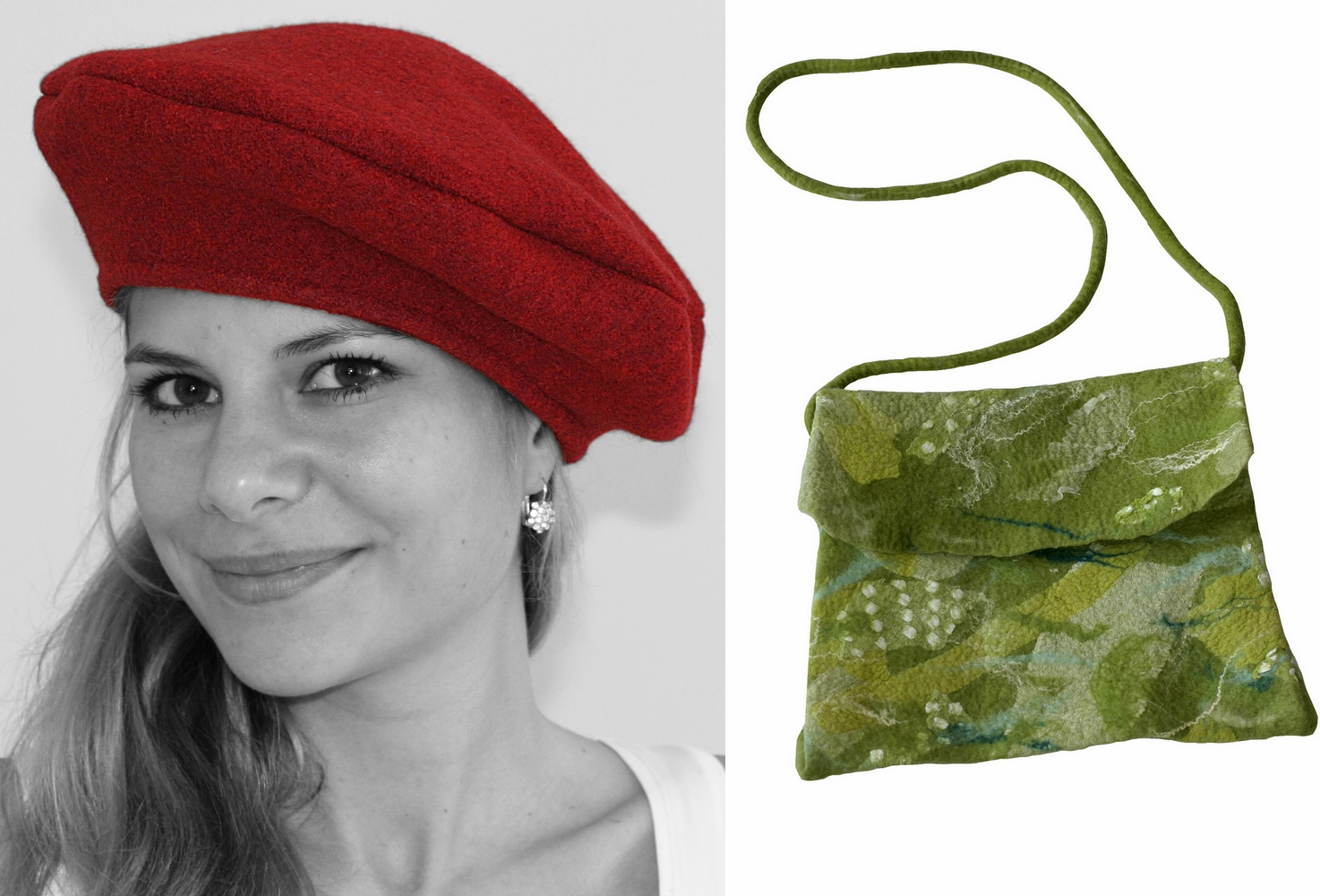 Accessoires aus der Werkstatt von Susanne Hinz