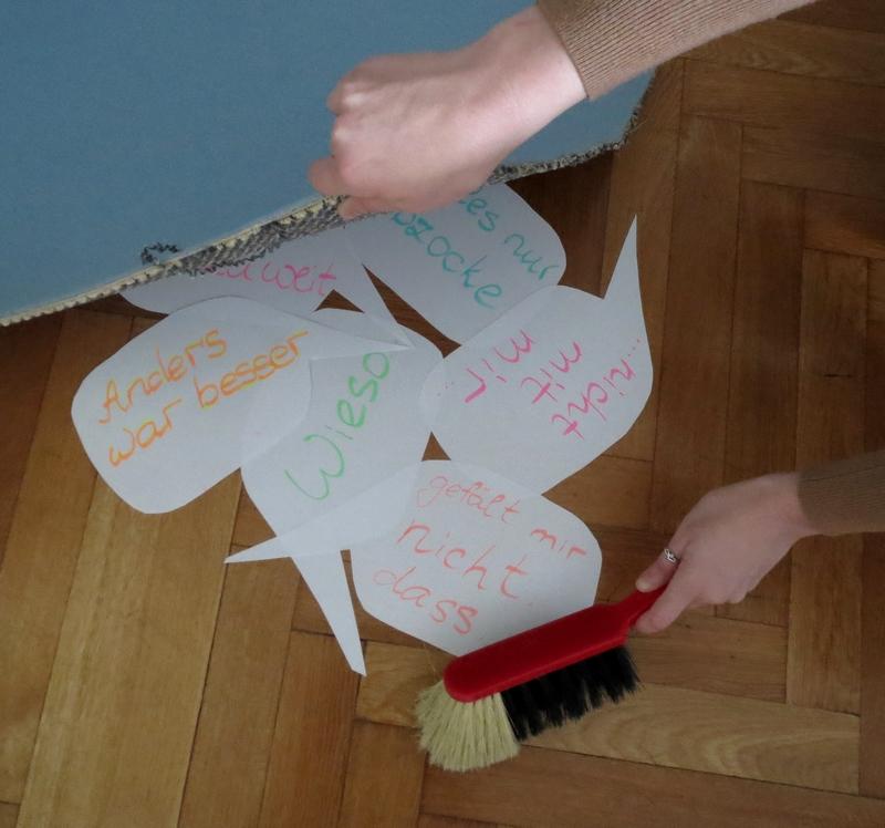Negative Kritik unter den Teppich kehren
