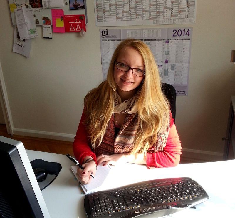 Anna Feininger, neue Praktikantin bei faltmann PR | Öffentlichkeitsarbeit für IT-Unternehmen