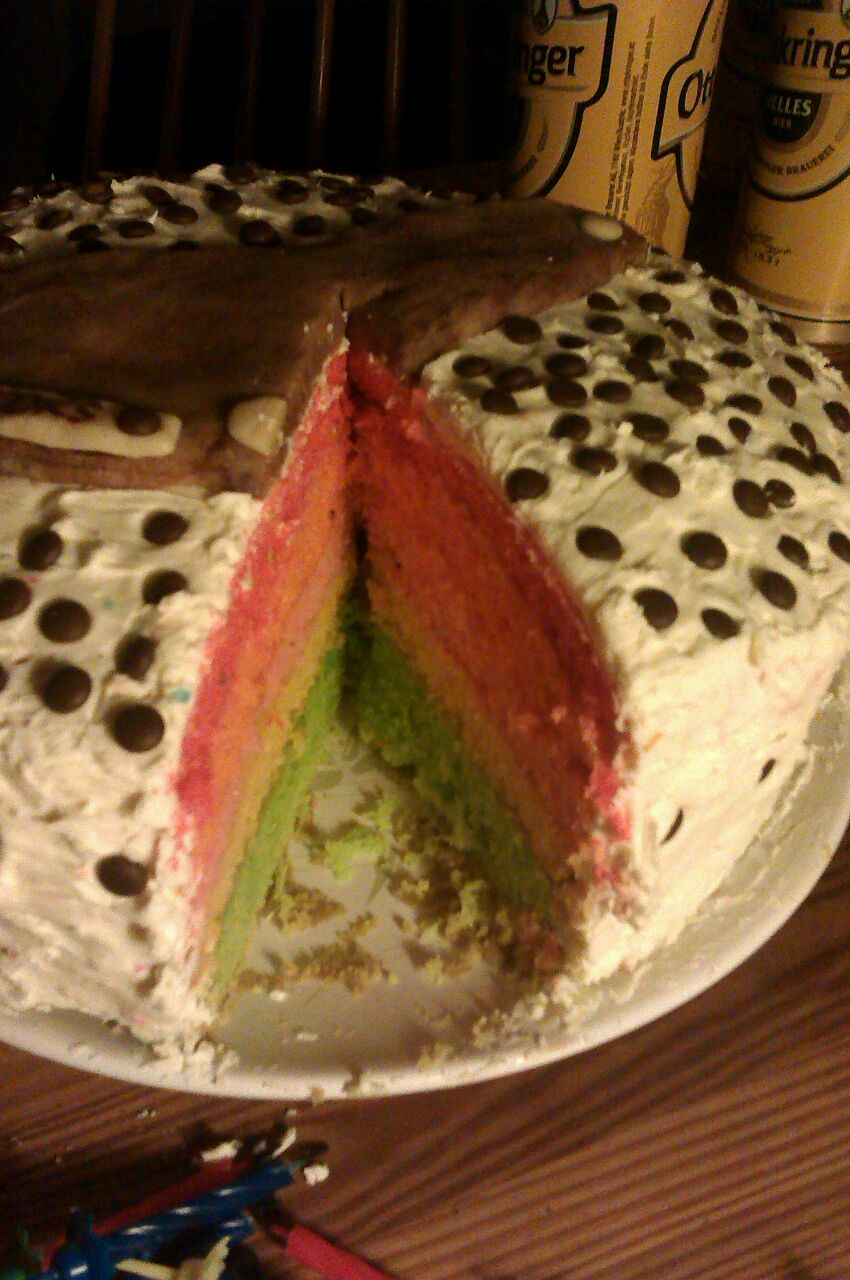Eine Torte