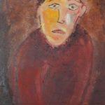 Judas als Ölbild