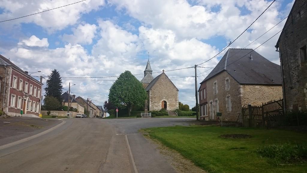 Ein ideales Dorf in Frankreich