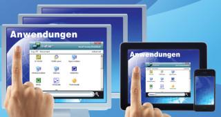 ThinPoint Desktop-Virtualisierung mit Anwendungsbereitstellung