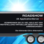2X Roadshow blau