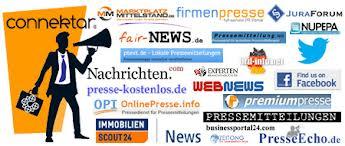 Viele Presseportale (Wolke)