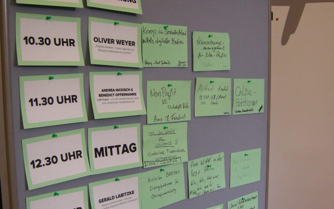 Non-Profit Camp in Aachen – Die etwas andere Konferenz