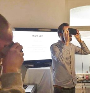 Virtual-Reality-Brille im Test