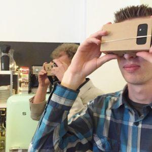 Virtual-Reality-Brille im Test