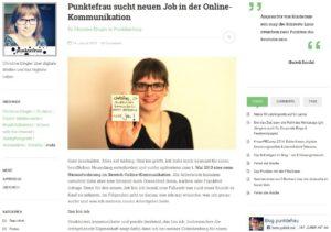 Blog als Bewerbung