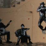 Straßenmusikanten auf Korsika