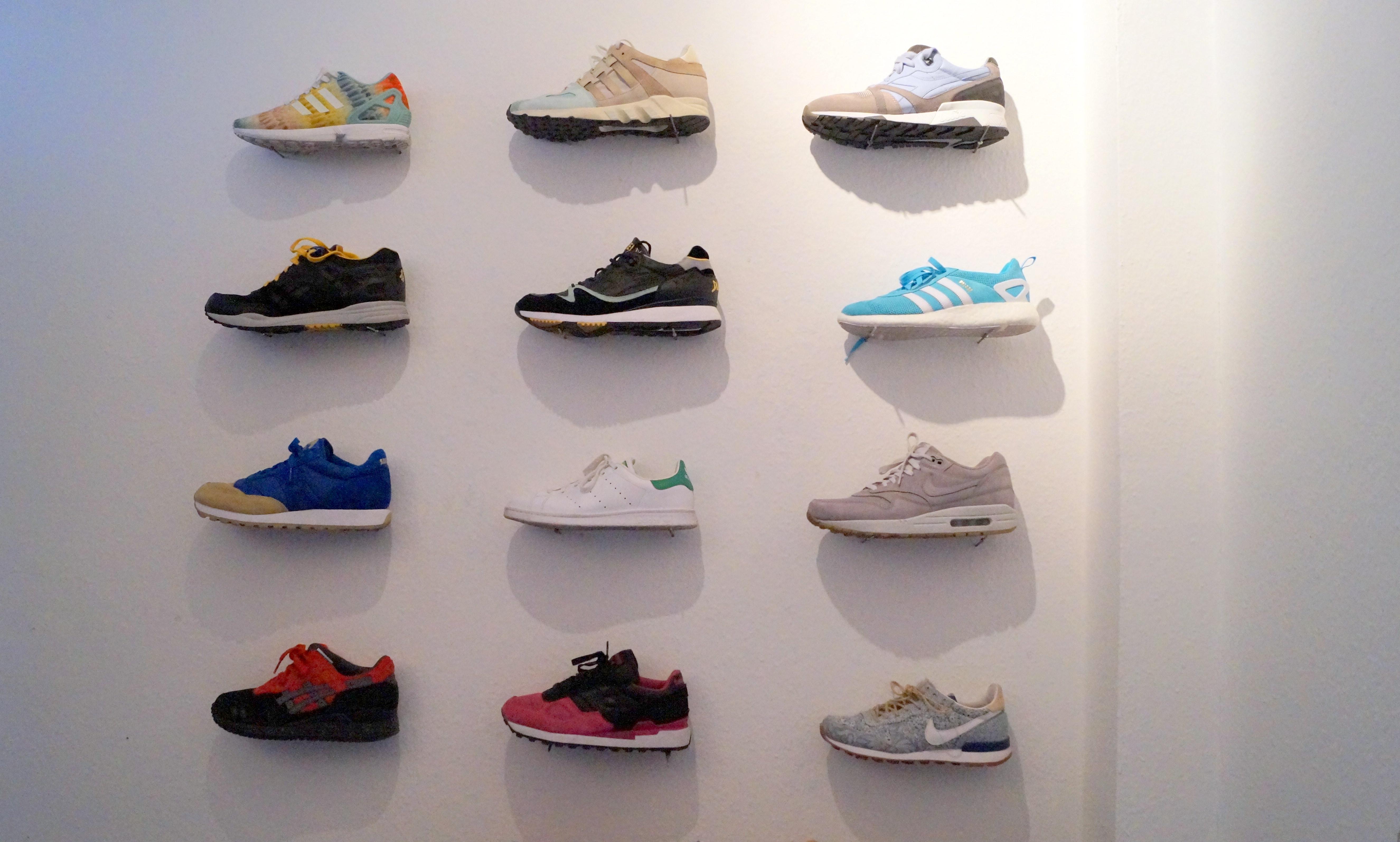 Auswahl an Sneakern
