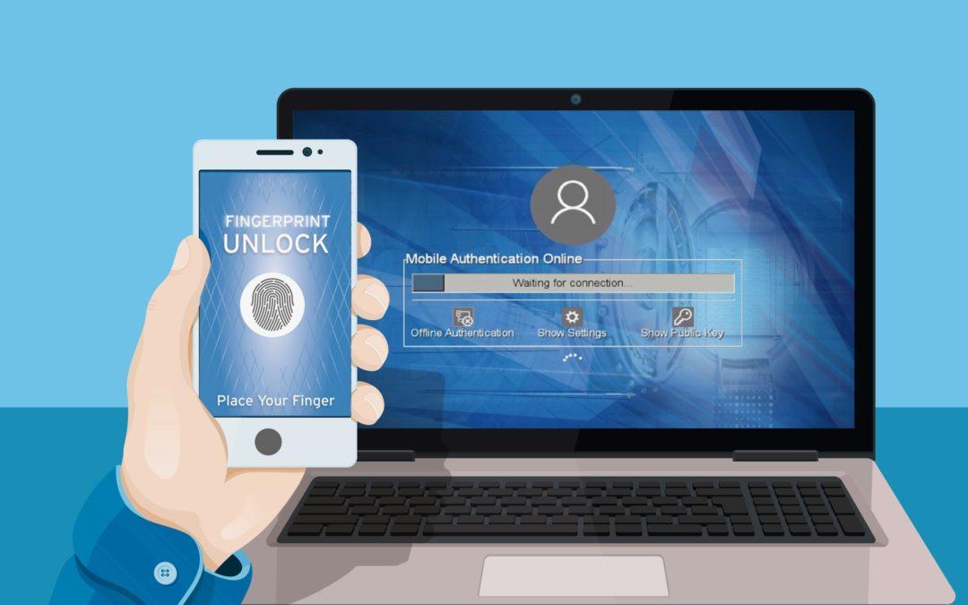 Sichere Anmeldung an BitLocker und Windows-Betriebssystem mit dem Smartphone
