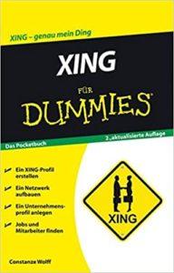 """Buch """"XING für Dummies"""" von Constanze Wolff"""